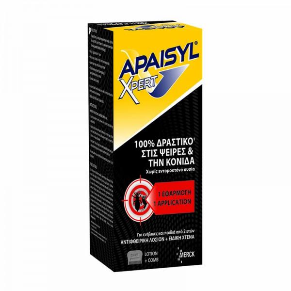 APAISYL XPERT ANTILICE LOTION 100ml + XTENA