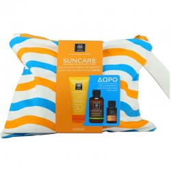APIVITA PROMO SUNCARE FACE CREAM OIL BALANCE SPF30 50ml ΜΕ ΔΩΡΟ PURIFYING GEL ΚΑΘΑΡΙΣΜΟΥ 75ml + PROTECTIVE HAIR OIL 20ml