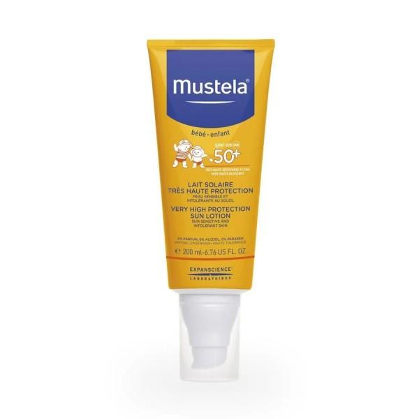 MUSTELA VERY HIGH PROTECT SUN LOTION SPF50+ 200ml