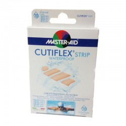 MASTER-AID CUTIFLEX STRIP WATERPROOF 4 ΜΕΓΕΘΗ 20strip