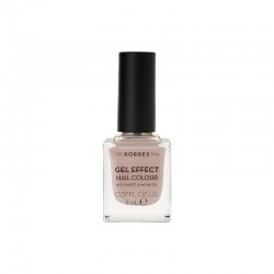 KORRES NAIL GEL EFFECT COLOUR 31 SANDY NUDE 11ml
