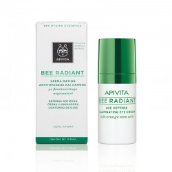 APIVITA BEE RADIANT AGE DEFENCE ILLUMINATING EYE CREAM 15ml