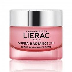 LIERAC SUPRA RADIANCE DETOX RENEWING CREAM NIGHT 50ml