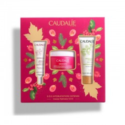 CAUDALIE VINOSOURCE S.O.S HYDRATION RESCUE: S.O.S INTENSE HYDRATION CREAM 50ml ΜΕ ΔΩΡΟ SOS THIRST- QUENCHING SERUM 10ml & MOISTURIZING MASK 15ml