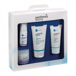PANTHENOL EXTRA SUITCASE PROMO (CREAM 100ml + FACE & EYE CREAM 50ml + FACE & EYE SERUM 30ml + FACE CLEANSING GEL150ml)