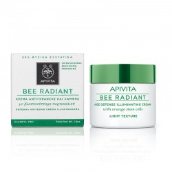 APIVITA BEE RADIANT AGE DEFENCE ILLUMINATING LIGHT TEXTURE CREAM 50ml