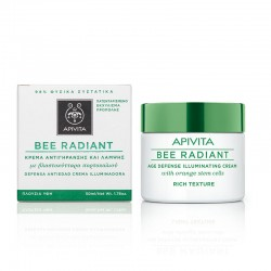 APIVITA BEE RADIANT AGE DEFENCE ILLUMINATING RICH TEXTURE CREAM 50ml