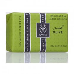 APIVITA NATURAL SOAP ΜΕ ΕΛΙΑ 125gr