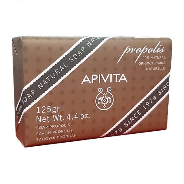 APIVITA NATURAL SOAP ΜΕ ΠΡΟΠΟΛΗ 125gr
