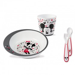 NUK DISNEY MICKEY LEARNING EATING SET 6m+ 1τμχ.