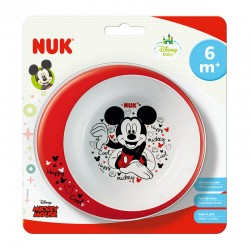 NUK DISNEY MICKEY LEARNING EATING BOWL 6m+ 1τμχ.