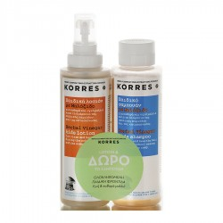 KORRES HERBAL VINEGAR LOTION 150ml & SHAMPOO 150ml