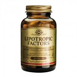 SOLGAR LIPOTROPIC FACTORS TABS 50s