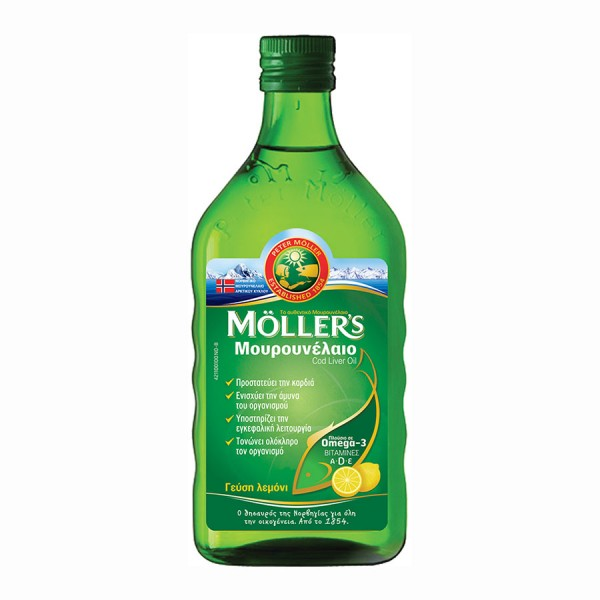 MOLLER'S OMEGA 3 LEMON 250ml